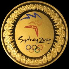 2000 $100 Sydney Olympic Gold Proof Coin - Titled: 'The Journey Begins'.