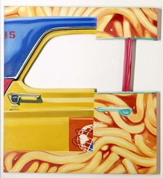 The Friction Disappears by James Rosenquist American Art/ pop art Pop Art Artists, Food Artists, Cultura Pop, James Rosenquist, Pop Art Collage, James D'arcy, Claes Oldenburg, Roy Lichtenstein, Famous Art