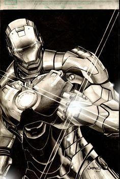 Marvel Iron Man The Titanium Titan by Jimbo Salgado Marvel Comics, Hq Marvel, Marvel Heroes, Comic Book Characters, Comic Book Heroes, Marvel Characters, Comic Character, Comic Superheroes, Comic Art