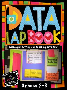 Student Data Lap Book: A Fun Way for Students to Track Data and Set SMART Goals by The Pinspired Teacher - The FUN alternative to data binder and data folders Student Data Binders, Student Data Tracking, Data Folders, Student Led Conferences, Student Goals, Data Boards, Data Notebooks, Interactive Notebooks, Visible Learning