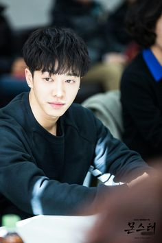 [몬스터] 현장포토 - Monster - script reading - Gikwang