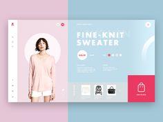 Women 's clothing website design