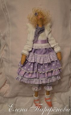 Куклы Тильды ручной работы. Ярмарка Мастеров - ручная работа Ангел Лола. Handmade.