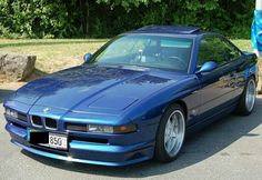 BMW 850 On Racing Dynamics Rims
