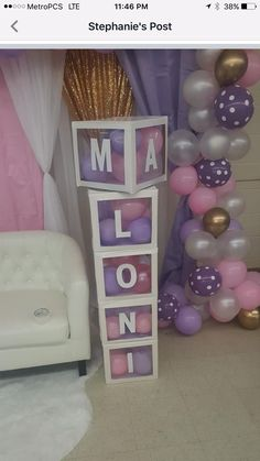 Ideas Baby Shower Nena Ideas Parties Decorations Ideas Baby Shower Nena Ideas Parties Decorations - Get your baby something they will Love 😍💚 Click the image and Grab Yours Today! 6 Large Clear Baby Blocks Decoration custom Letter Boxes for Baby Shower Purple, Unicorn Baby Shower, Simple Baby Shower, Baby Boy Shower, Lavender Baby Showers, Shower Party, Baby Shower Parties, Baby Shower Themes, Shower Ideas