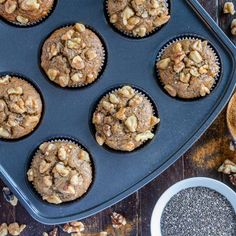 Delicious and nutritious Paleo Apple Walnut Muffins. Here at Flannerys we LOVE walnuts! Why? These little beauties are full of goodness. Walnuts are low