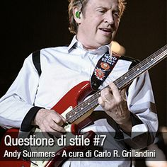 New article on MusicOff.com: Questione di stile #7 - Andy Summers. Check it out! LINK: http://ift.tt/22tQKmS
