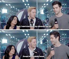#TMI #Shadowhunters Cast | Emeraude Toubia | Dominic Sherwood | Matthew Daddario