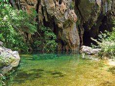 The spectacular underground river boat trip through Phong Nha Cave is a highly enjoyable, though quite touristy, and experience beginning in Son Trach village, has some Cham altars from 10th century.