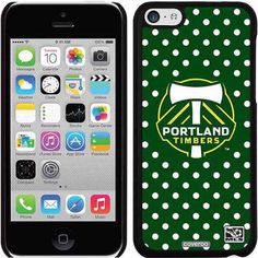 Portland Timbers Polka Dots Design on Apple iPhone 5c Thinshield Snap-On Case by Coveroo