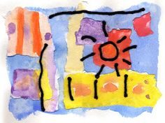 Art Projects for Kids: abstract