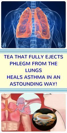 THIS TEA FULLY EJECTS PHLEGM FROM THE LUNGS AND HEALS ASTHMA IN AN ASTOUNDING WAY! #asthmarelief #instantasthmarelief