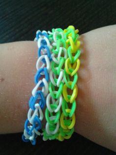 Single chained bracelets