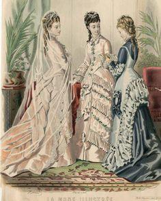 La Mode Illustrée 1876