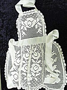 Have a friend or family member that loves to cook or bake? A lovely antique apron would make a great gift!