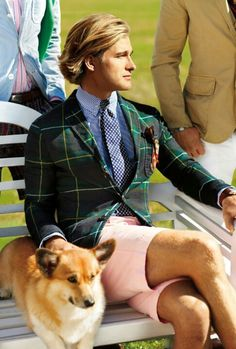 Ralph Lauren Menswear Spring-Summer 2013 Campaign: Burst of colors and prints are Guilty? ~ Men Chic- Men's Fashion and Lifestyle Online Magazine Moda Preppy, Preppy Mode, Preppy Mens Fashion, Men Fashion, Style Fashion, Estilo Preppy, Ivy League Style, Style Masculin, Ivy Style