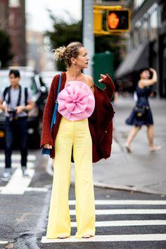 Cool Blue Denim On Day 7 Closed Out New York Fashion Week | Fashionista