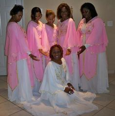 pink and white garments of praise. for a free booklet on praise dance email Angela Williams at awilliam4000@gmail.com