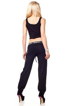 Dance & Sporthose mit Miss Danza Silber Print