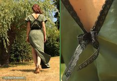 Robe facile à faire, C'est juste 4 rectangles Bettinael.Passion.Couture.Made in france Couture Sewing, Diy Couture, Diy Clothes, Wrap Dress, Two Piece Skirt Set, Celebs, Formal Dresses, My Style, Passion