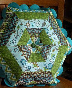 Great Hexagon Pillow