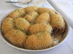 Traditional Kataifi with Walnuts – Paradosiako Kataifi me karidia