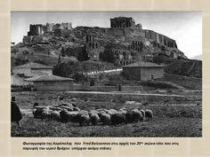 Ό άνθρωπος που φωτογράφιζε την Ελλάδα όταν η Ακρόπολη είχε ακόμη πρόβατα!   Alexiptoto Acropolis, Athens Greece, Monument Valley, The Past, Greek, Nature, Travel, Times, Naturaleza