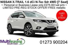 NISSAN-X-TRAIL-1-6-dCi-N-Tec-5dr-4WD-7-Seat-Manual-LIMITED-STOCK-OFFER