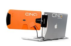 Portable display attaches to laptop for only $250. pretty cool.