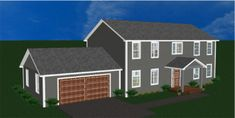 """Landmark """"Special Select"""" Floor Plans   Landmark Home and Land Company, Inc. Panel Home. Add a big front porch, detach garage, and this is my dream home"""