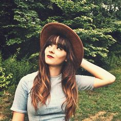 dreamy hair + hat
