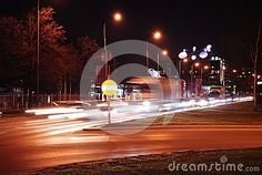 Warsaw At Night_2 - Download From Over 56 Million High Quality Stock Photos, Images, Vectors. Sign up for FREE today. Image: 87463758