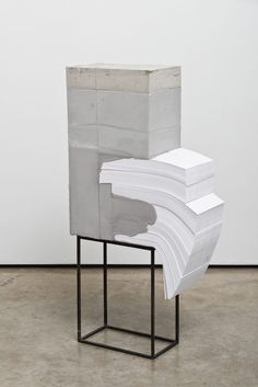 Concrete and paper