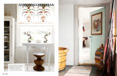 I want to paint the doors in my house that color. March 2013 - Lonny Magazine