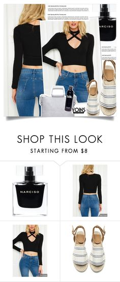 """""""YOINS."""" by fairouze ❤ liked on Polyvore featuring Narciso Rodriguez"""