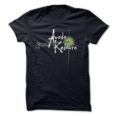 Avada Kedavra T Shirts, Hoodies, Sweatshirts. CHECK PRICE ==► https://www.sunfrog.com/Movies/Avada-Kedavra.html?41382