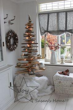 Kersthoekje in de keuken...