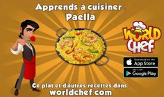 Paella, Chefs, World Chef, App Store Google Play, Recipes, Potatoes, Grateful, Cook, Kitchens