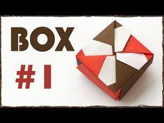 Paper Box Tutorial. Origami Box. #1 - YouTube