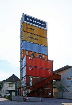 Freitag Flagship Store Zurich