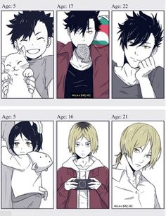 Haikyuu!! ~~ Growing Up! - Kuroo Tetsurou and Kenma Kozume