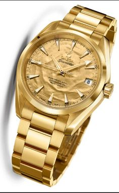 Unique Omega Seamaster Aqua Terra Gold 50th Anniversary of 007 GOLDFINGER Watch Sells for $113,000 - one-of-a-kind, solid 18k yellow gold Omega watch produced in honor of the 50th anniversary of the James Bond 007 Goldfinger film from 1964 recently sold for 106,000 Swiss Francs (about $113,000) via an online Christie's James Bond auction earlier today on September 17th 2014. That is interesting because the amount is about eight times the retail value of the watch (even though there never…