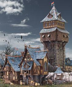 Tabletop World Village
