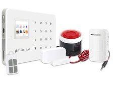 VisorTech GSM-Alarmanlage mit Funk-/Handy-Anbindung, 11-teiliges Starter-Set VisorTech GSM -Funk Alarmanlagen Bild 1