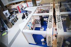 Installation générale stands - STRAX - MEDPI 2014
