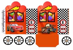Cars: Invitations and Free Party Printables. Disney Printables, Party Printables, Free Printables, Cars Birthday Parties, Birthday Party Decorations, Cars Invitation, Family Car Decals, Disney Cars Party, Car Party