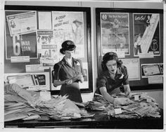 Girl Scouts helping with a war bond drive, c. 1944