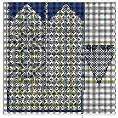 . Mittens Pattern, Knit Mittens, Knitting Socks, Knitting Stitches, Mitten Gloves, Hand Knitting, Knitting Patterns, Knit Socks, Fair Isle Chart