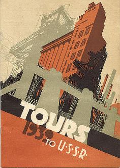 Travel brochure Tours to the USSR 1932