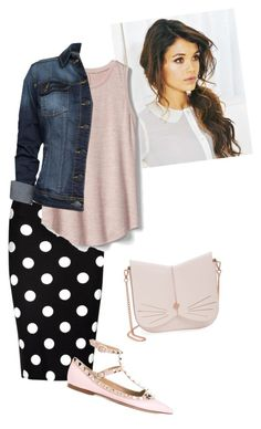 """dot"" by ohraee019 on Polyvore featuring So in Fashion, Gap, MANGO, Valentino and Ted Baker"